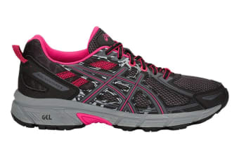ASICS Women's Gel-Venture 6 Running Shoe (Black/Pixel Pink)