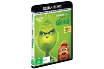 The Grinch (2018) (4K UHD Blu-ray/Blu-ray/Digital Copy)