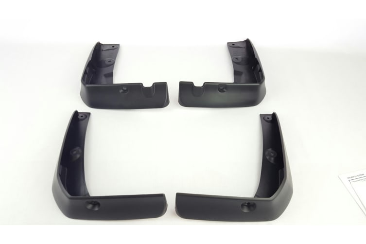 New Genuine Mazda 6 GH Front and Rear Mud Flaps Kit Sedan Hatch 2007 - 2012