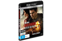 Jack Reacher: Never Go Back 4K Ultra HD UHD