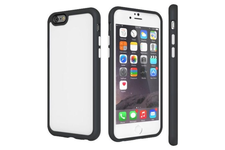 SwitchEasy AERO Drop Cover Case & Screen Protector for iPhone 6+/6s Plus White