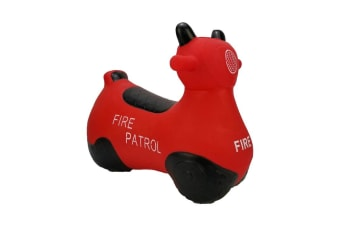 Kiddicare Ride On Kids Toddler Bouncing Toy Bouncy Hopper Fire Patrol
