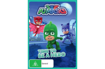 PJ Masks Time to Be a Hero DVD Region 4