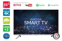 "Kogan 55"" Agora Smart 4K LED TV (Series 9 MU9000) - Refurbished"