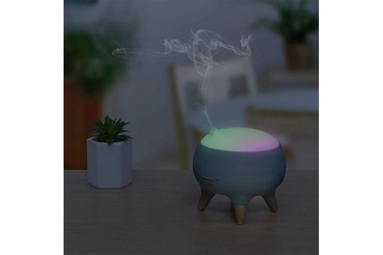 Activiva Aromatherapy Diffuser/Mist Humidifier w/ RGB Colour Changing Light Lamp