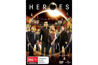 Heroes Season 4 DVD Region 4