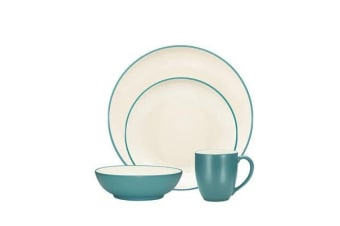 Noritake Colorwave Turquoise 16pc Dinner Set