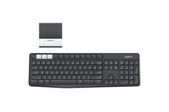 LOGITECH K375s MULTI-DEVICE WIRELESS KB and Stand Combo