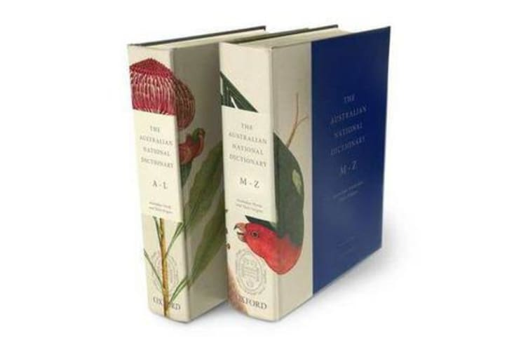 The Australian National Dictionary - Australian Words and Their Origins - 2 Volumes  A-L and M-Z