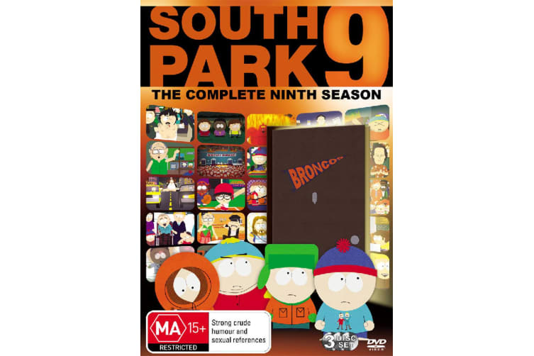 South Park Series 9 DVD Region 4