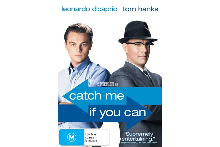 Catch Me If You Can DVD Region 4