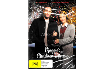 MAGGIE'S CHRISTMAS MIRACLE -Family Region 4 Rare- Aus Stock DVD NEW