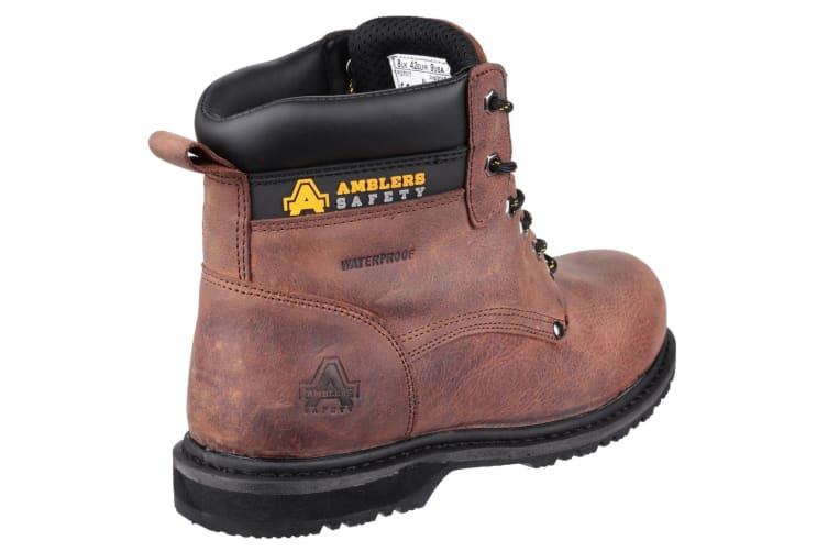 Amblers FS145 Mens Safety Boots (Brown) (12 UK)