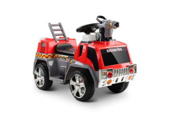 Fire Truck Electric Toy Car (Red/Grey)