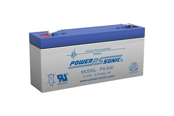 Power Sonic 6V 3.5 Amp Sla Battery