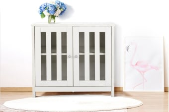 Shangri-La Display Cabinet - Brighton Collection (White)