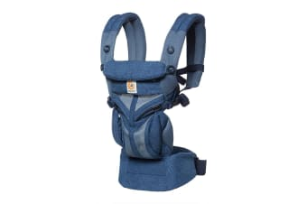 Ergobaby Omni 360 Cool Air Mesh Baby Carrier Blue Blooms