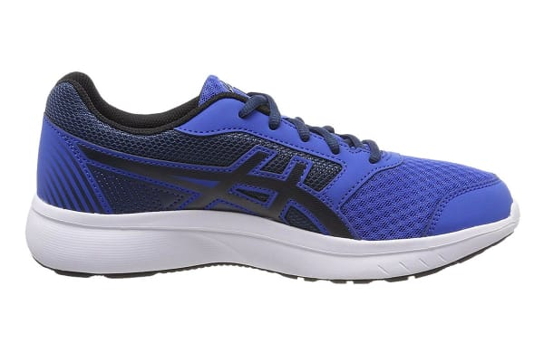 ASICS Men's Stormer 2 Running Shoe (Victoria Blue/Black/Dark Blue, Size 6.5)