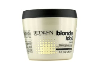 Redken Blonde Idol Mask Nourishing Rinse-Out Treatment (For Damaged, Blonde Color-Treated Hair) 250ml/8.5oz