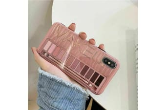 Marble Pattern Soft TPU Case Elegant Stylish Shockproof Silicone Cover for iPhone X/XS-Naked Pink