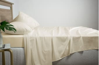 Ardor Luxury 2500TC Cotton Rich Sheet Set (Linen/Queen)
