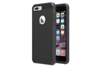 For iPhone 8 PLUS 7 PLUS Case Stylish Armour Durable Protective Cover Black