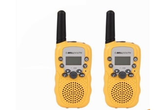 Retevis RT-388 22 Channel FRS/GMRS Rechargeable Walkie Talkies for Kids Yellow