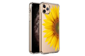 ZUSLAB iPhone 11 Pro Max Case Flower Flora Lace Style 9 Shock Absorption Rubber Bumper Protective Transparent Hard Back Clear Cover for Apple