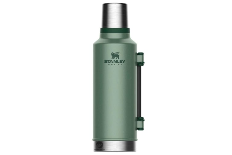 STANLEY CLASSIC 1.9L INSULATED VACUUM THERMOS FLASK BOTTLE - GREEN