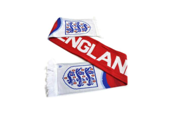 England FA Swirl Scarf Red (Red/White/Blue)