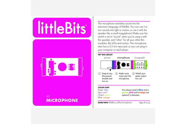 LittleBits Microphone