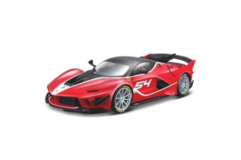 Bburago 1:18 Scale Ferrari Signature FFX K EVO #54 Diecast Car Vehicle Toy Red