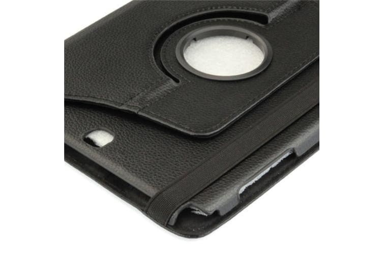 For Samsung Galaxy Tab A 9.7 SM-T550 SM-T555 Case Leather Shielding Cover Black