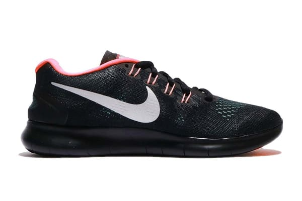 Nike Women's Free RN 2017 Running Shoe (Anthracite/Black/Aurora, Size 9.5)