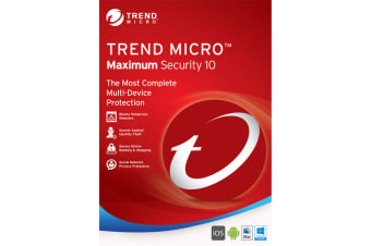 TREND MICRO Maximum Security (1-3 Devices) 24mth Retail Mini Box