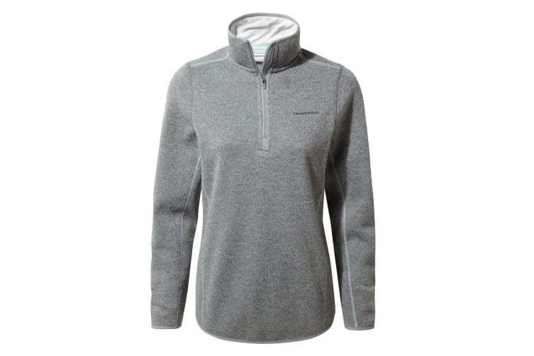 Craghoppers Womens/Ladies Caldera Half-Zip Fleece (Cloud Grey Marl) (20 UK)