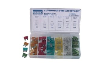 Blade fuse 20 x 5A 10A 15A 20A 25A and 30A Automotive Fuse Assortment Packed