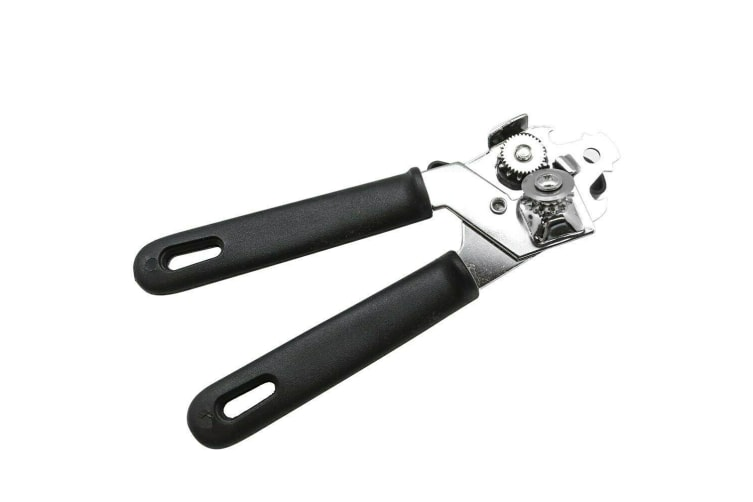 1 x Can Opener Effortless Smooth Edge Manual Stainless Steel Handy Kitchen Tool