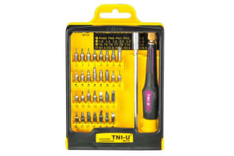 Tni-U 30 Piece Precision Screwdriver Set Triwing Torx Hex Ph Tri