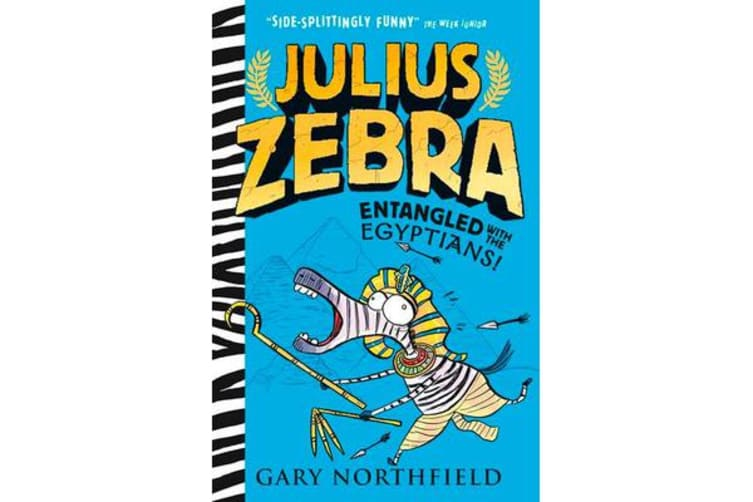 Julius Zebra - Entangled with the Egyptians!