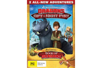 Dragons Gift of the Night Fury DVD Region 4