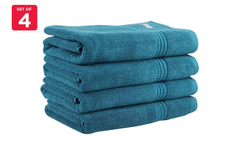Onkaparinga Ethan 600GSM Bath Towel Set of 4 (Jade)