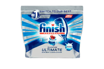 18PK Finish Quantum Powerball Ultimate Original Tabs For Dishwasher Dishwashing