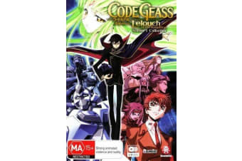 CODE GEASS LELOUCH OF THE REBELLION S1 - Rare- Aus Stock DVD NEW