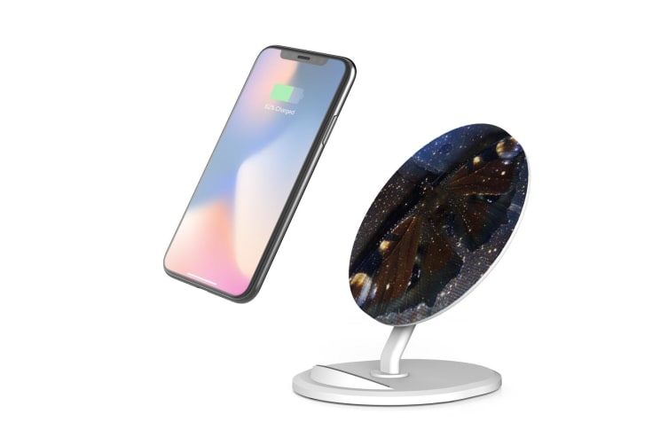 QI Wireless Charger For iPhone 11 Samsung Galaxy S20+ S20 Ultra Note 10+ Magical