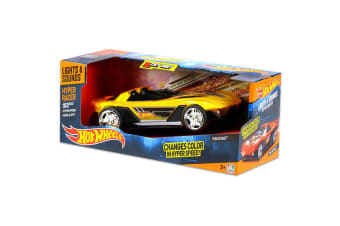 Hot Wheels Hyper Racer Yur So Fast with Lights & Sounds