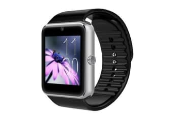 "TODO Bluetooth V3.0 Smart Watch 1.5"" Tft Lcd Rechargeable Antilost Call - Silver"