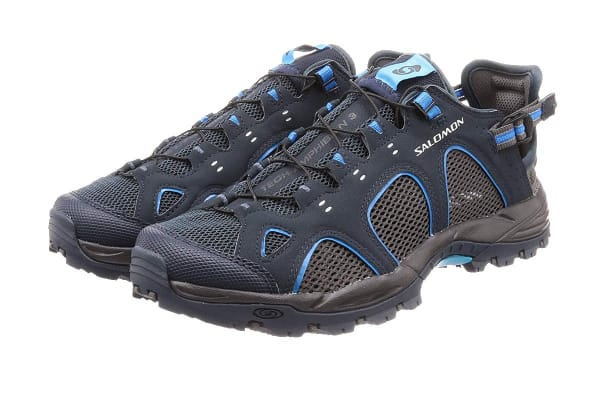 Salomon Men's Shoes Techamphibian 3 (Deep Blue/Autobahn/Fluorescent Blue, Size 11.5)