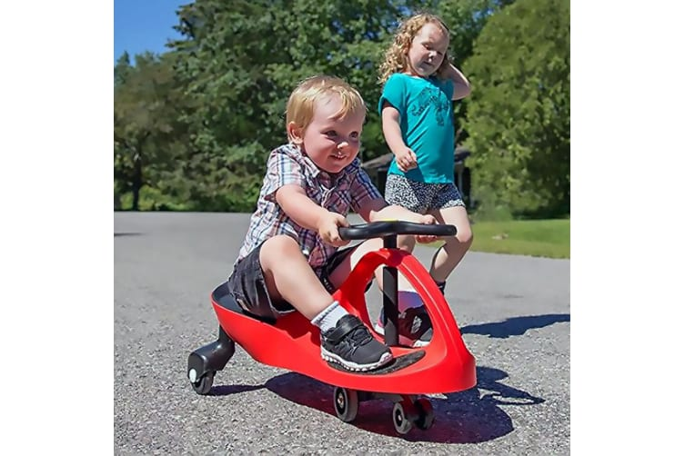 Lenoxx Pedal-free Ride-on Swing/Scooter Slider Car for Kids/Children 3y+ Green