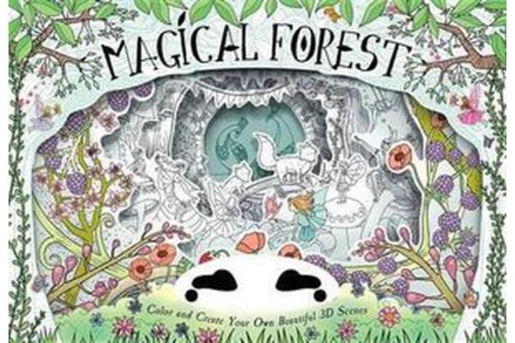 Magical Forest - Color and Create Your Own Beautiful 3D Scenes